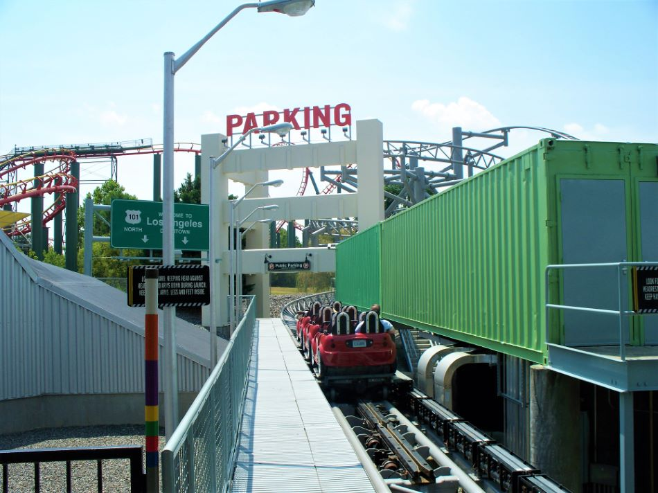 Backlot Stunt Coaster photo from Kings Dominion