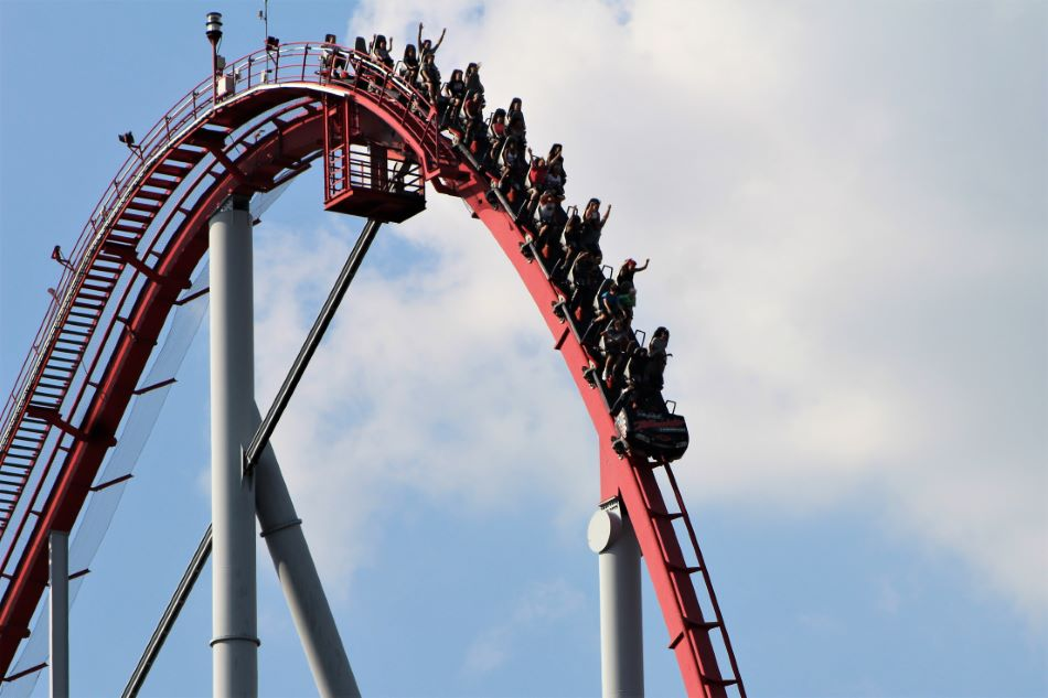 Intimidator photo from Carowinds