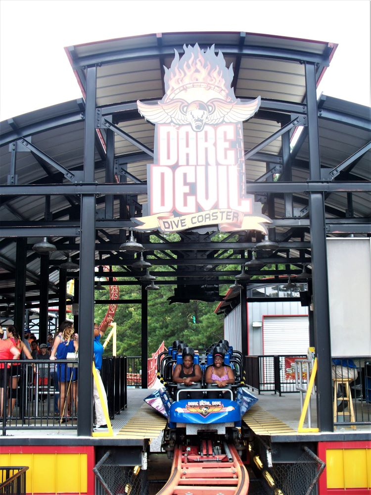 Dare Devil Dive photo from Six Flags Over Georgia
