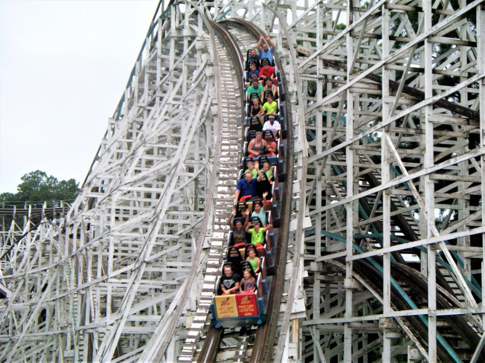 Georgia Cyclone photo from Six Flags Over Georgia