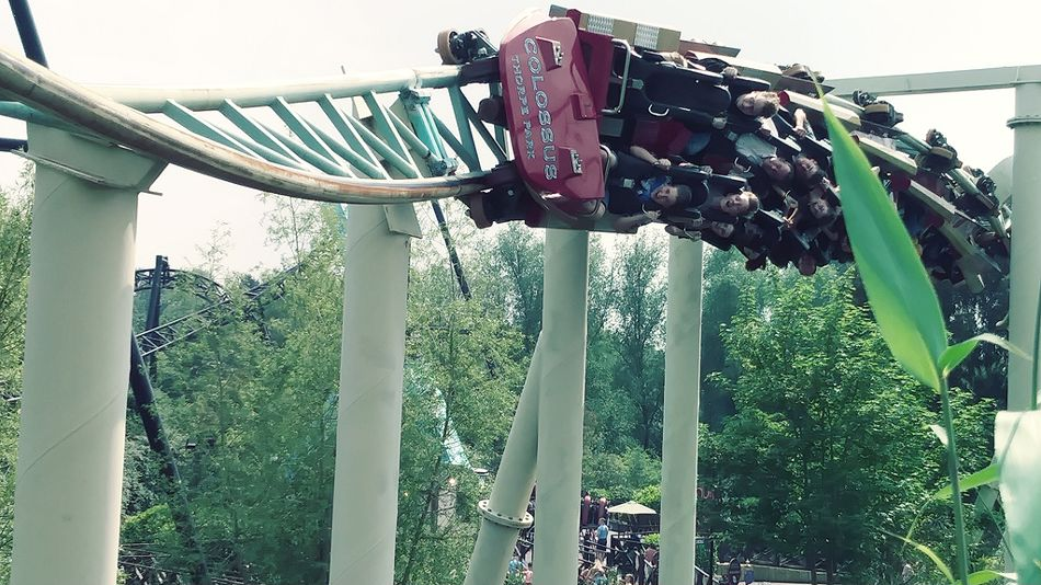 Colossus photo from Thorpe Park