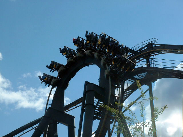 Batman: The Ride photo from Six Flags Great Adventure