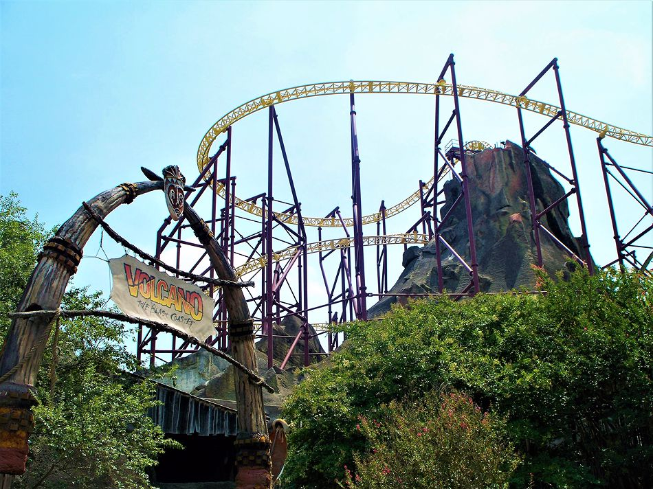 Volcano: The Blast Coaster photo from Kings Dominion