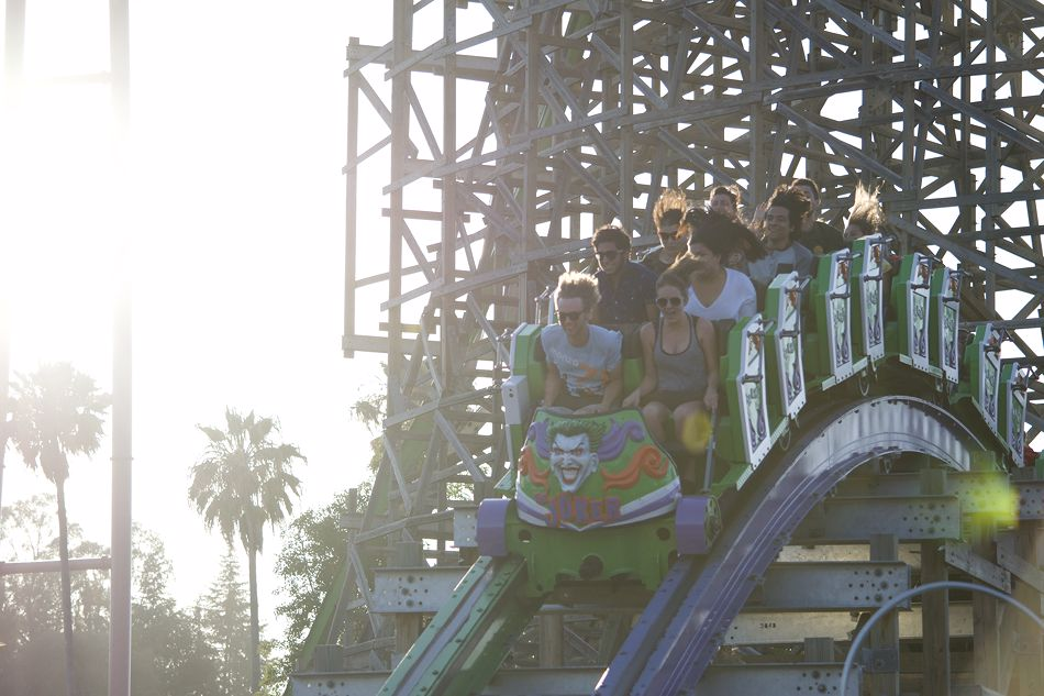 The Joker photo from Six Flags Discovery Kingdom