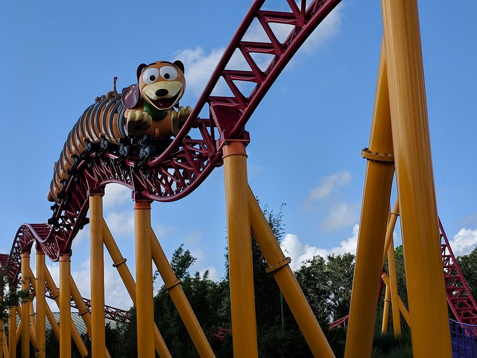 Slinky Dog Dash photo from Disney's Hollywood Studios