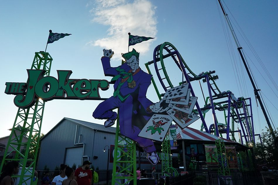 The Joker photo from Six Flags New England