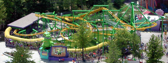 Flying ACE Aerial Chase photo from Kings Island