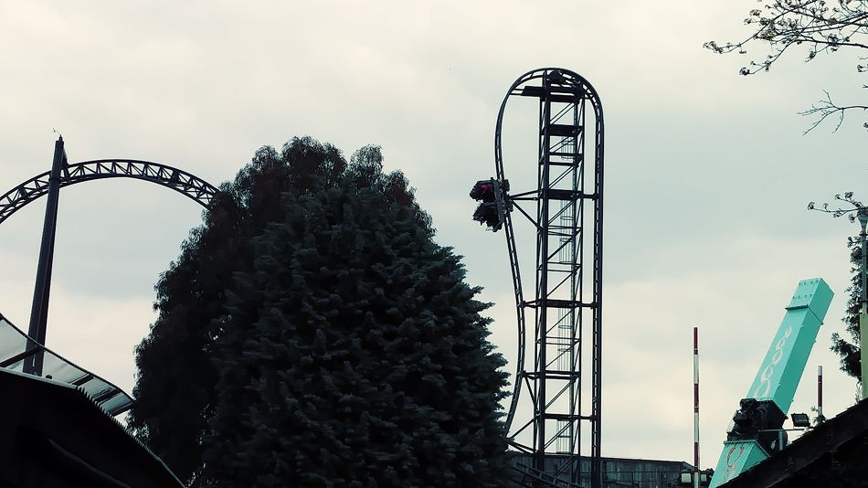 Saw: The Ride photo from Thorpe Park