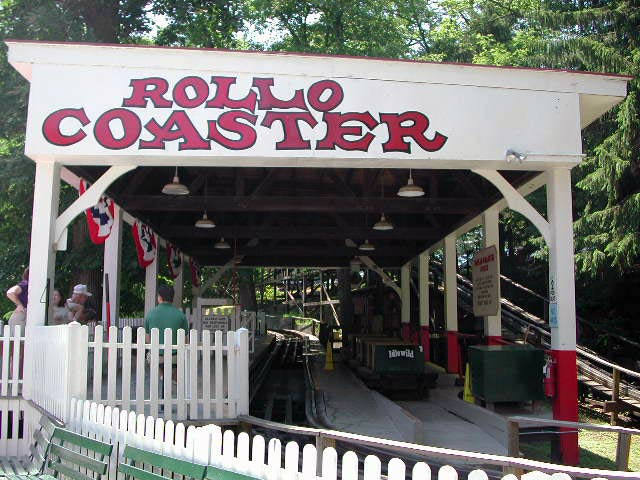Rollo Coaster photo from Idlewild Park