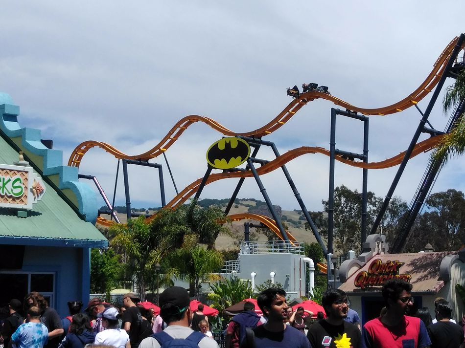 Batman: The Ride photo from Six Flags Discovery Kingdom