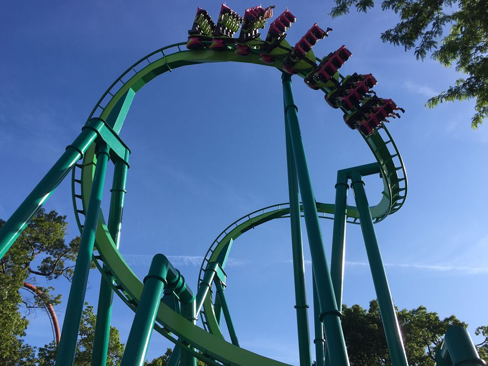Raptor photo from Cedar Point
