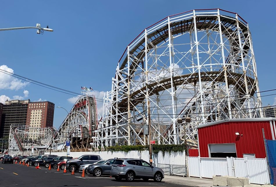 Cyclone photo from Luna Park at Coney Island
