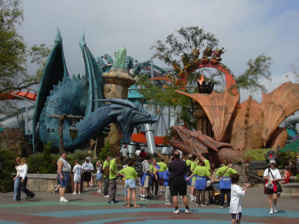 Dueling Dragons (Fire) photo from Islands of Adventure