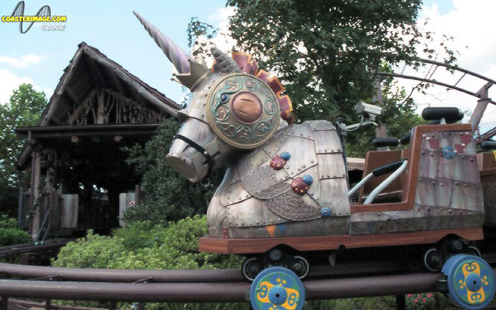 Flying Unicorn, The photo from Islands of Adventure
