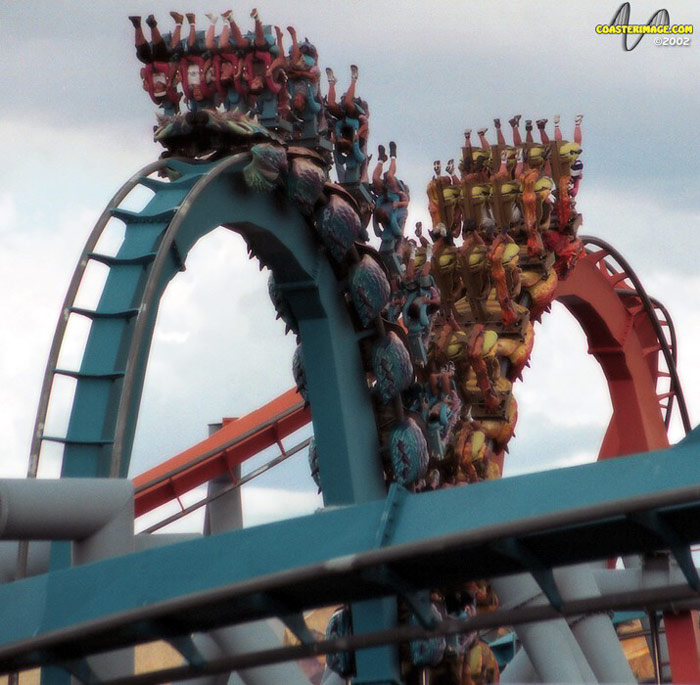 Dueling Dragons (Ice) photo from Islands of Adventure